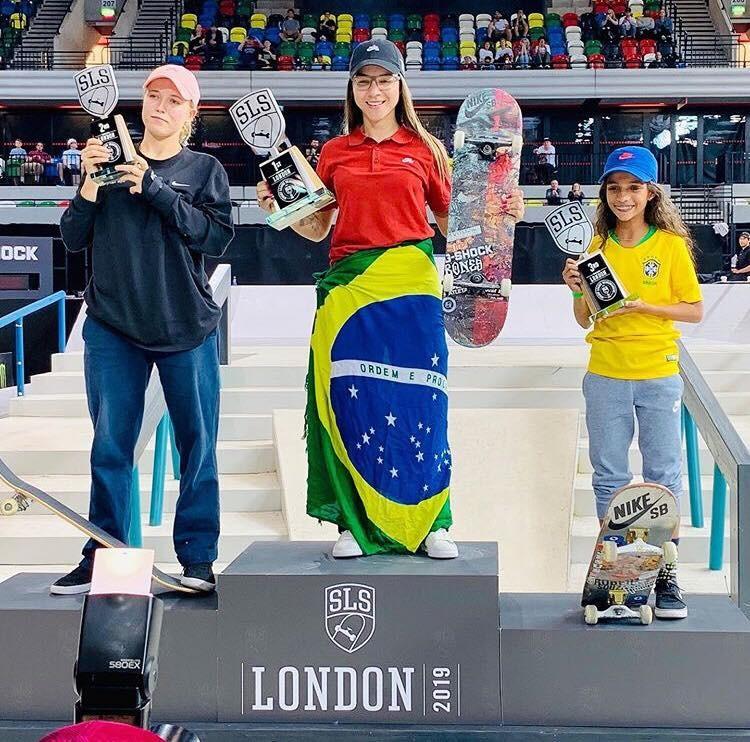 Maranhense de 11 anos leva bronze no mundial de skate em Londres