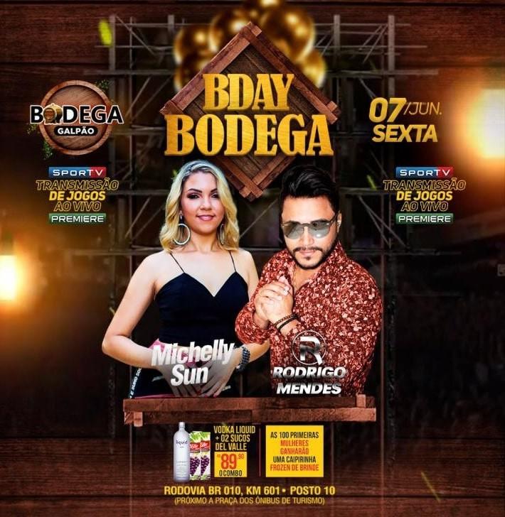 Bodega Galpão comemora 01 Ano com 05 dias de Festa em Imperatriz-MA
