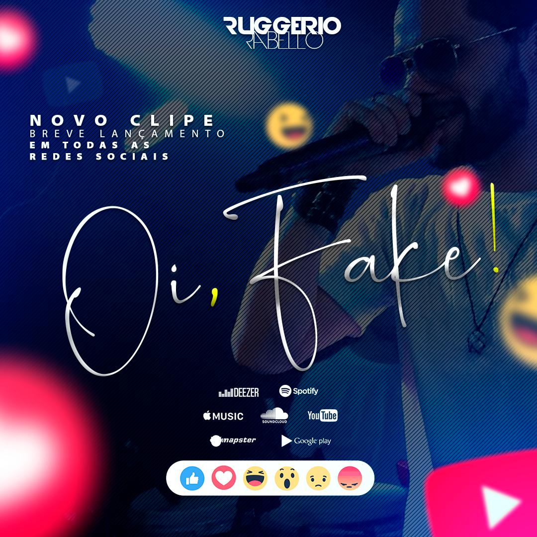 Ruggerio Rabello anuncia que irá lançar nova música
