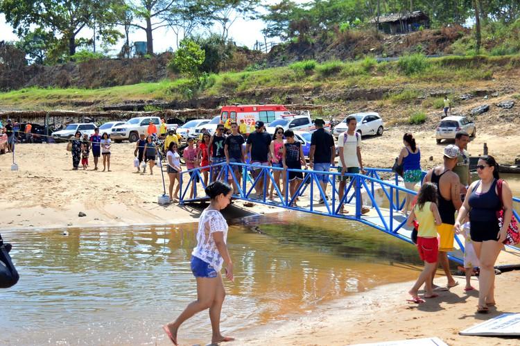 Prefeitura abre oficialmente temporada de praias em Imperatriz