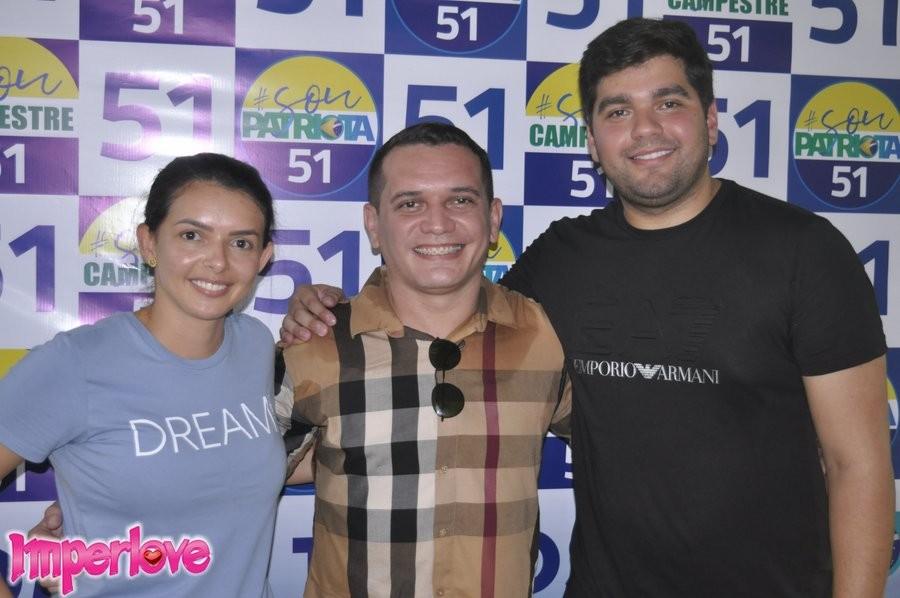 Durante encontro do Patriota a Pré-candidata a Prefeita Rebeca Fernandes é aclamada em Campestre
