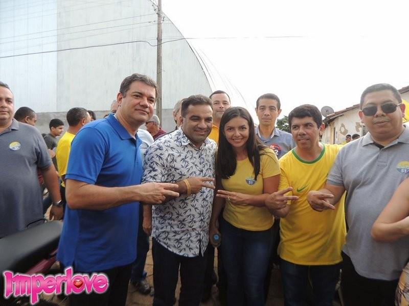 Pré-candidato a Governador do Maranhão Josimar de Maranhãozinho prestigia evento da Pré-candidata a Prefeita, Rebeca Fernandes em Campestre