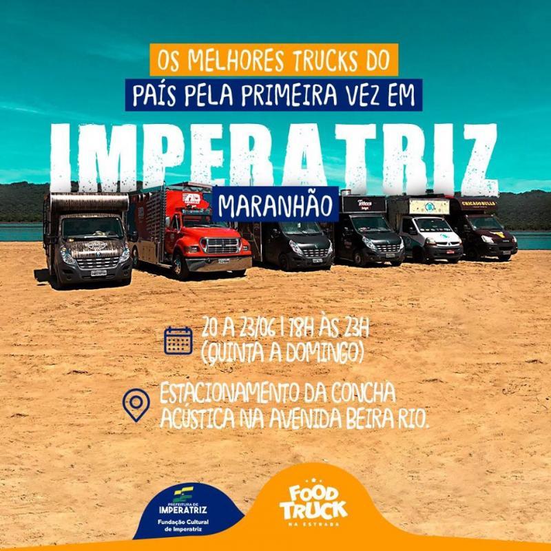 Festival FoodTruck na Estrada - Imperatriz-MA